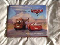 The Art of Cars, beautiful hardbacked book Disney Pixar Lightning McQueen