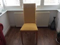 Free chair needs recovering possible project for someone
