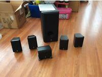 Yamaha 5.1 Home Cinema Speaker System