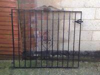 3 x Heavy Duty Wrought Iron Gates