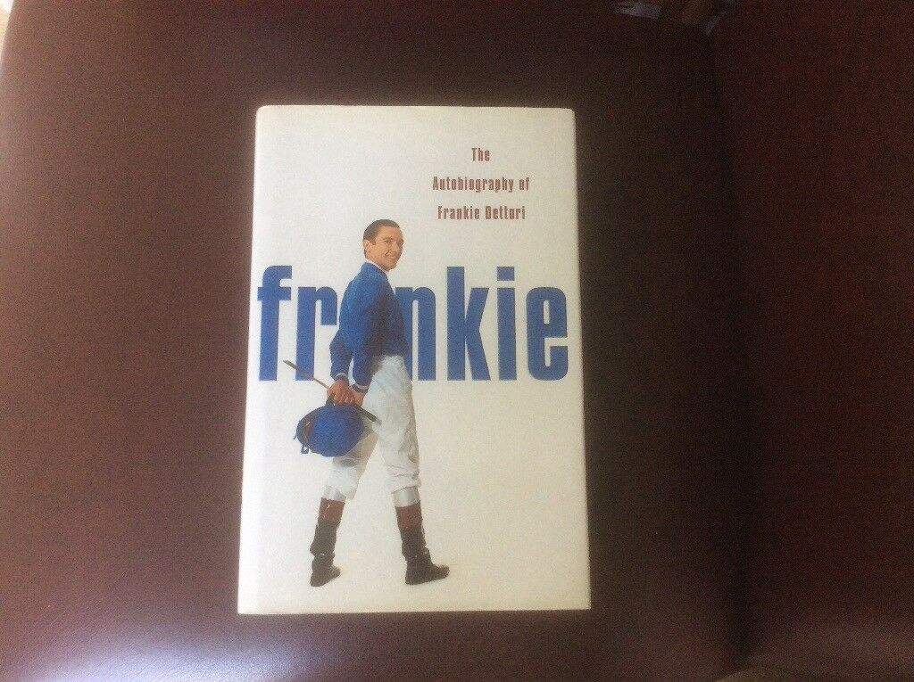 Frankie Dettori Autobiography Book