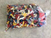 LEGO 4kg bag of mixed lego