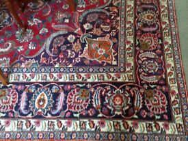 Large Iranian hand made Persian carpet