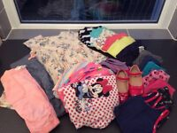 Clothes and shoe bundle girl 12 month to 3 year