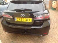 Lexus hybrid advance ct200h