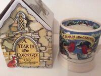 Emma Bridgewater new and unused 2016 Year in the Country half pint mug