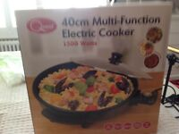 Selling various kitchen wares, electric frying pan, electric chip pan, all brand new