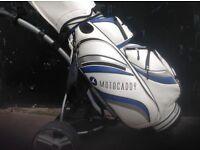 Caddyman golf trolley electric with bag no golf clubs