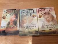 Three Christian Novels by Janette Oke