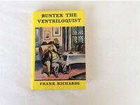 BUNTER THE VENTRILOQUIST - HARDBACK BOOK