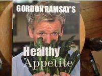 Gordon Ramsey's healthy Appetite cook book