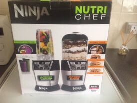 Ninja Nutri Chef , brand new, still boxed unwanted prize