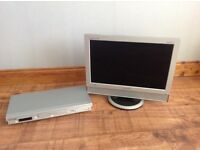 "Samsung 19"" LCD TV & Panasonic DVD player"