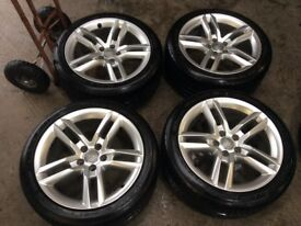 "18"" genuine Audi A6 alloys"