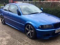 BMW e46 O/S Wing Estoril blue prefacelift 99-03 coupe convertible