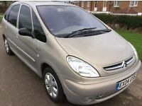 CITROEN XSARA PICASSO PEOPLE CARRIER 5 SEATS ESTATE VERY ECONOMICAL AND RELIABLE BARGAIN £895 ono