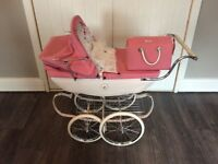 Pram . Silver cross dolls pram. First £150 takes it .