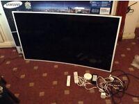 Spairs or repairs Samsung curve tv 55 inch