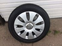 Alloy tyre wheel