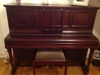 Piano and piano stool good condition for sale