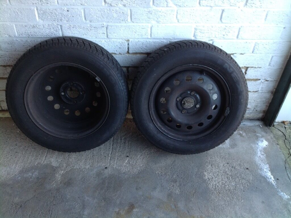 Winter Tyres with Steel Rims