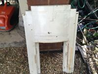 Art Deco fire surround and fire box