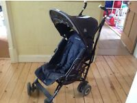 Maclaren xt buggy in black. Good condition