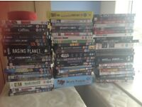 Large collection of DVDs
