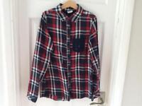 Zara Girls Check shirt