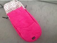 Betty bramble footmuff for Icandy buggy