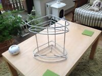Stainless steel storage rack two tiers good condition