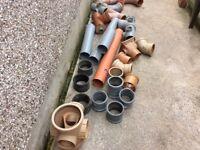 Soil pipe connectors etc