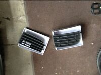 For sale pair of mk5 golf lower front bumper grills £10 the pair will not split