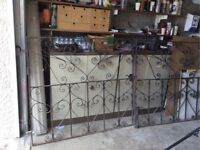 Heavy Duty Wrought Iron Gates