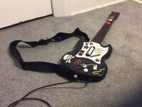 PS2 Guitars with guitar hero 1,2,3 and 4