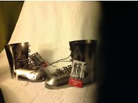Silver Boot wine bottle holder, would make a perfect gift