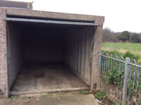Secure dry Lock up Garage available for Rent near Train Station, Tilbury (Essex)