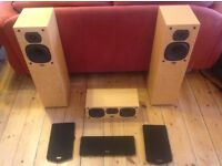 EXCELLENT CONDITION! QUAD 21L HIFI SPEAKER SYSTEM.