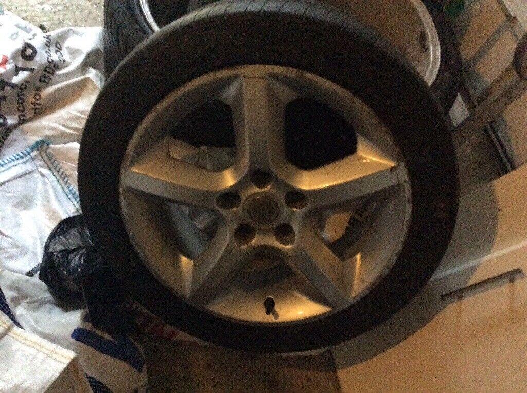 Astra rims tyres