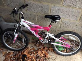 "Girls bike 12"" frame size, 5 speed"