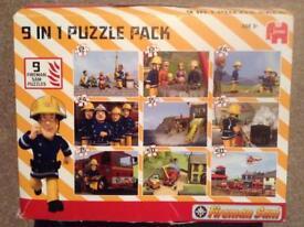 Fireman Sam box of pizzles