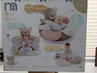 Mothercare sit me up cosy for newborns to older babies.