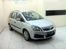 Vauxhall Zafira 1.6 i 16v Life 5dr - 12 Month MOT - 12 Month Warranty - 7 Seater