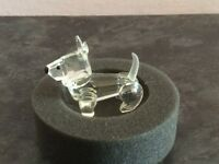 Swarovski crystal Terrier Dog