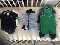 JOBLOT of Baby Boy Clothes 0-12 Months. More than175 items.