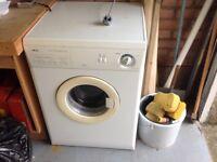 Zanussi dual temperature tumble dryer
