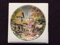 """Coalport Bone China - 6 plate collection """"The Tale of a Country Village"""""""
