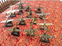 Collectors 2nd World War Aircraft. Scale models (not air fix)