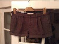 Jack Wills Winter Tweed Ladies shorts size 10