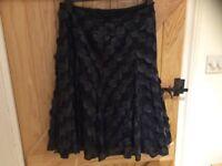 Black ladies elegant skirt